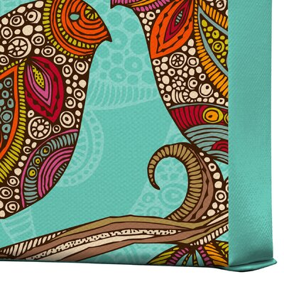 DENY Designs Valentina Ramos Hello Birds Gallery Wrapped Canvas