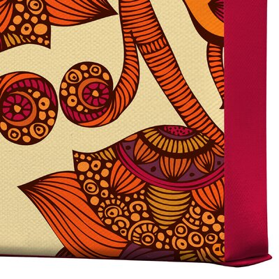 DENY Designs Valentina Ramos Boho Flowers Gallery Wrapped Canvas