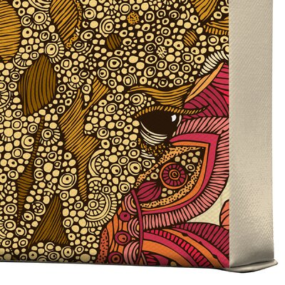 DENY Designs Valentina Ramos The Giraffe Gallery Wrapped Canvas