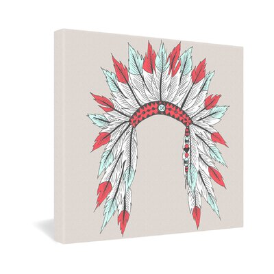 DENY Designs Wesley Bird Dressy Gallery Wrapped Canvas