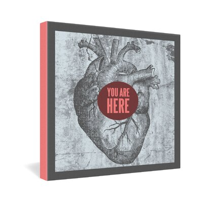 DENY Designs Wesley Bird You Are Here Gallery Wrapped Canvas