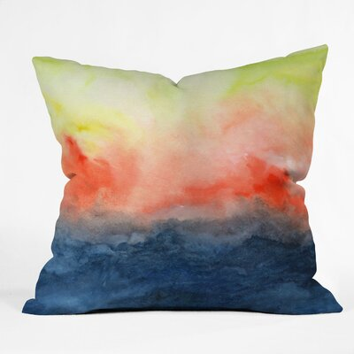 DENY Designs Jacqueline Maldonado Brushfire Indoor / Outdoor Polyester Throw Pillow