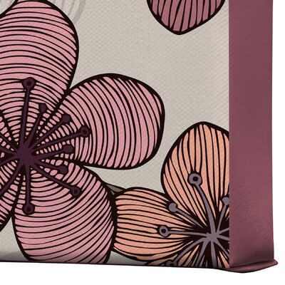 DENY Designs Blossom by Valentina Ramos Graphic Art on Canvas