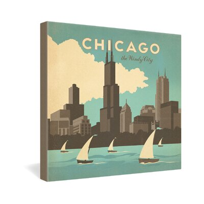 DENY Designs Anderson Design Group Chicago Gallery Wrapped Canvas