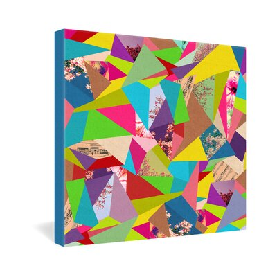Bianca Green Colorful Thoughts Gallery Wrapped Canvas