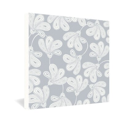 DENY Designs Khristian A Howell Provencal Gray 1 Gallery Wrapped Canvas