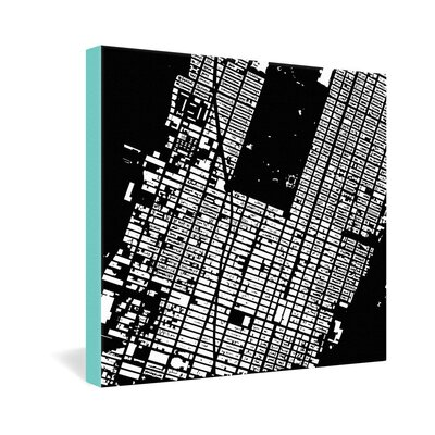 DENY Designs NYC Midtown by CityFabric Inc Graphic Art on Canvas