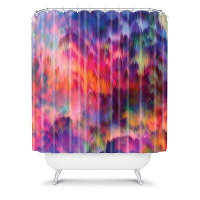 DENY Designs Amy Sia Sunset Storm Polyester Shower Curtain