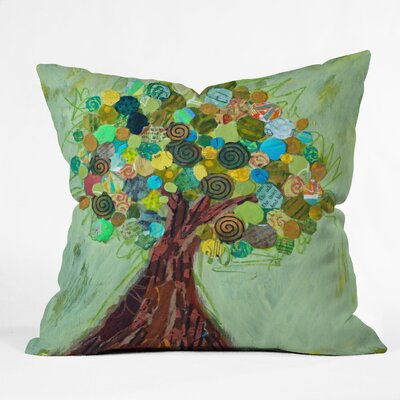 DENY Designs Elizabeth St Hilaire Nelson Spring Tree Polyester Throw Pillow