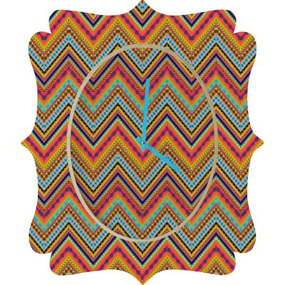 DENY Designs Amy Sia Tribal Chevron Clock