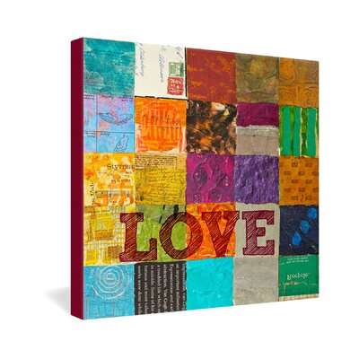 DENY Designs Elizabeth St Hilaire Nelson Love Gallery Wrapped Canvas