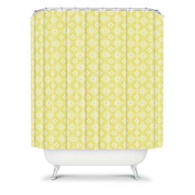 DENY Designs Caroline Okun Spirals Polyester Shower Curtain