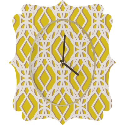 DENY Designs Aimee St. Hill Diamonds Wall Clock