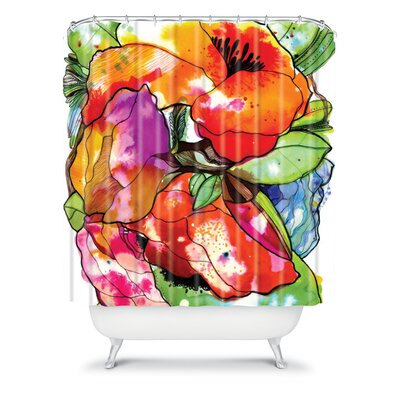 DENY Designs CayenaBlanca Big 2 Polyester Shower Curtain