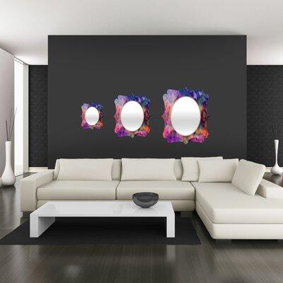 DENY Designs Amy Sia Sunset Storm Quatrefoil Mirror
