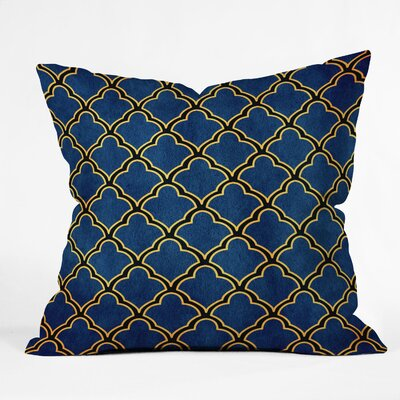 DENY Designs Arcturus Quatrefoil Polyester Throw Pillow