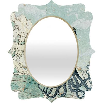 DENY Designs Belle13 Sea Fairy Quatrefoil Mirror