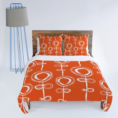 DENY Designs Rachael Taylor Contemporary Orange Duvet Cover Collection