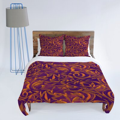 DENY Designs Wagner Campelo Abstract Garden Duvet Cover Collection