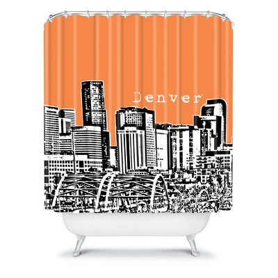 DENY Designs Bird Ave Woven Polyester Denver Shower Curtain