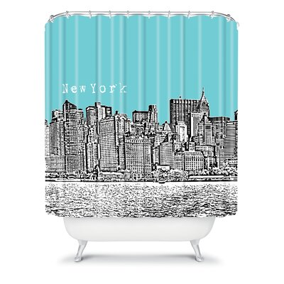Bird Ave Woven Polyester New York Shower Curtain for Sale | Wayfair