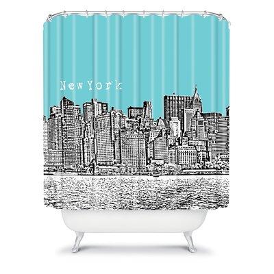 Bird Ave Woven Polyester New York Shower Curtain for Sale | Wayfair