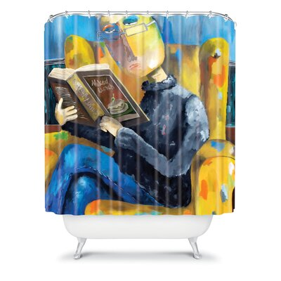 DENY Designs Robin Faye Gates Polyester at The End of The Fork Shower Curtain