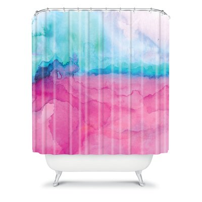 DENY Designs Jacqueline Maldonado Tidal Color Shower Curtain