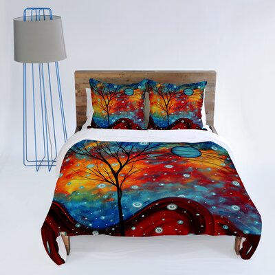 DENY Designs Madart Inc. Summer Snow Duvet Cover Collection