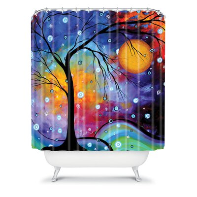 DENY Designs Madart Inc. Polyester Winter Sparkle Shower Curtain
