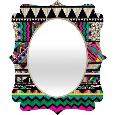 DENY Designs Kris Tate Fiesta 1 Quatrefoil Mirror