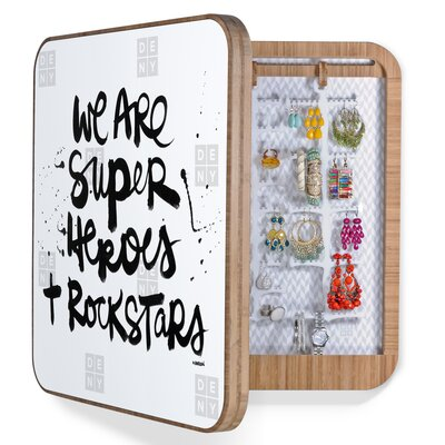 DENY Designs Kal Barteski Superheroes Bling Box