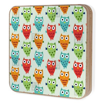 DENY Designs Andi Bird Owl Fun Bling Box