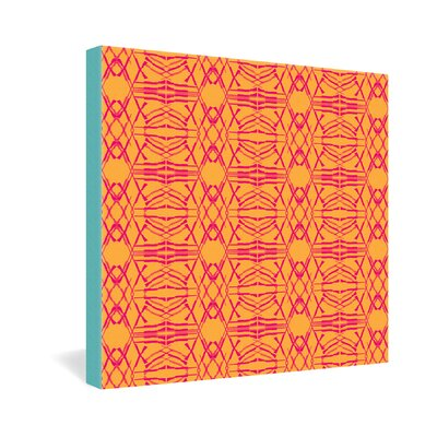 DENY Designs Pattern State Shotgirl Tang Gallery Wrapped Canvas