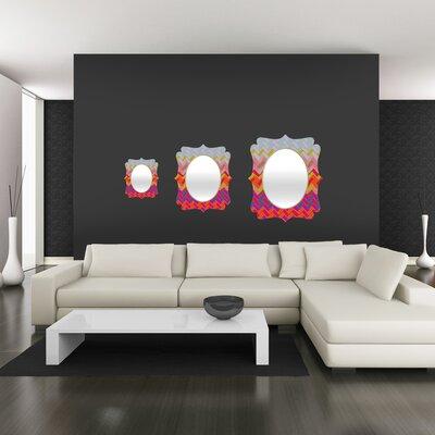 DENY Designs Sharon Turner Geo Chevron Quatrefoil Mirror