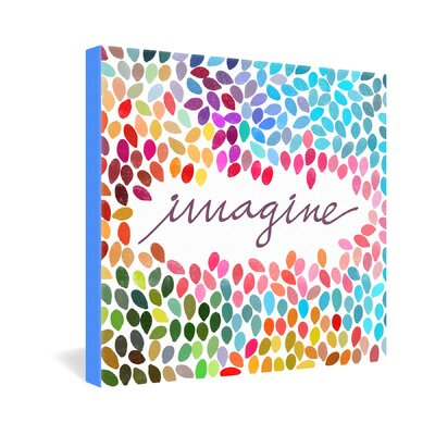 DENY Designs Garima Dhawan Imagine 1 Gallery Wrapped Canvas