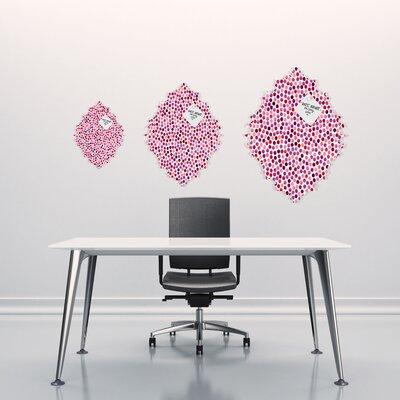 DENY Designs Garima Dhawan Dots Watercolor Berry Baroque Magnet Board