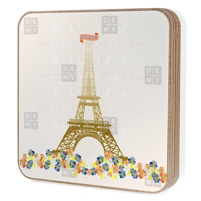 DENY Designs Jennifer Hill Paris Eiffel Tower Bling Box