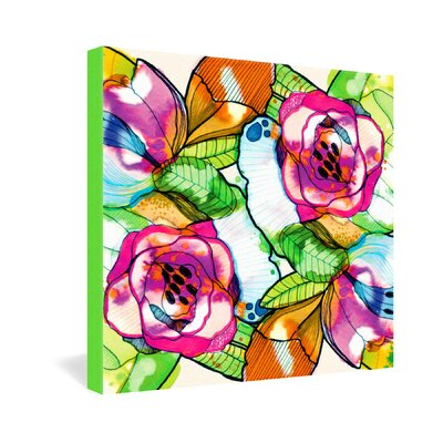 DENY Designs CayenaBlanca Fantasy Garden Canvas Wall Art