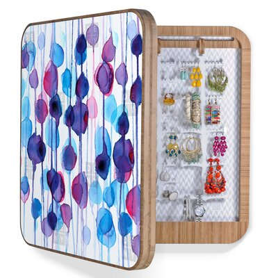 DENY Designs CMYKaren Abstract Watercolor BlingBox