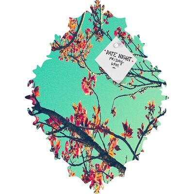 DENY Designs Shannon Clark Summer Bloom Magnet Board