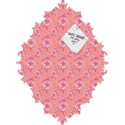 DENY Designs Caroline Okun Artichoktica Rosa Magnet Board
