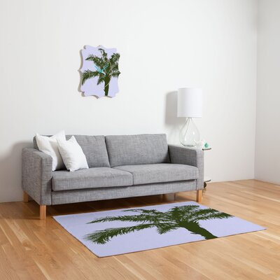 DENY Designs Deb Haugen Olive Palm Novelty Rug