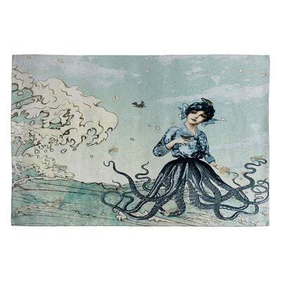 DENY Designs Belle13 Sea Fairy Novelty Rug