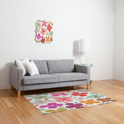 DENY Designs Garima Dhawan Multi Dogwood Kids Rug