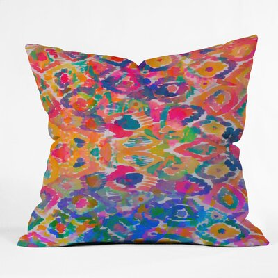 DENY Designs Amy Sia Watercolour Ikat 3 Throw Pillow