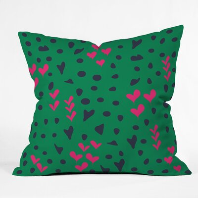DENY Designs Vy La Animal Love Throw Pillow