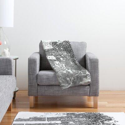DENY Designs CityFabric Inc San Francisco Polyester Fleece Throw Blanket