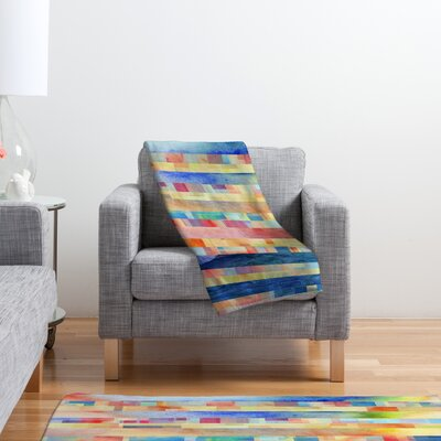 DENY Designs Jacqueline Maldonado Amalgama Polyester Fleece Throw Blanket