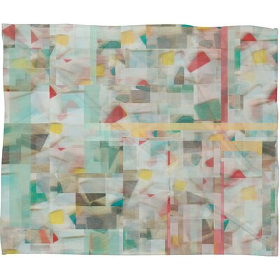 Jacqueline Maldonado Mosaic Polyester Fleece Throw Blanket